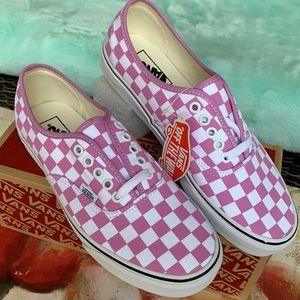 VANS AUTHENTIC CHECKERBOARD ORCHID/TRUE WHITE WMNS
